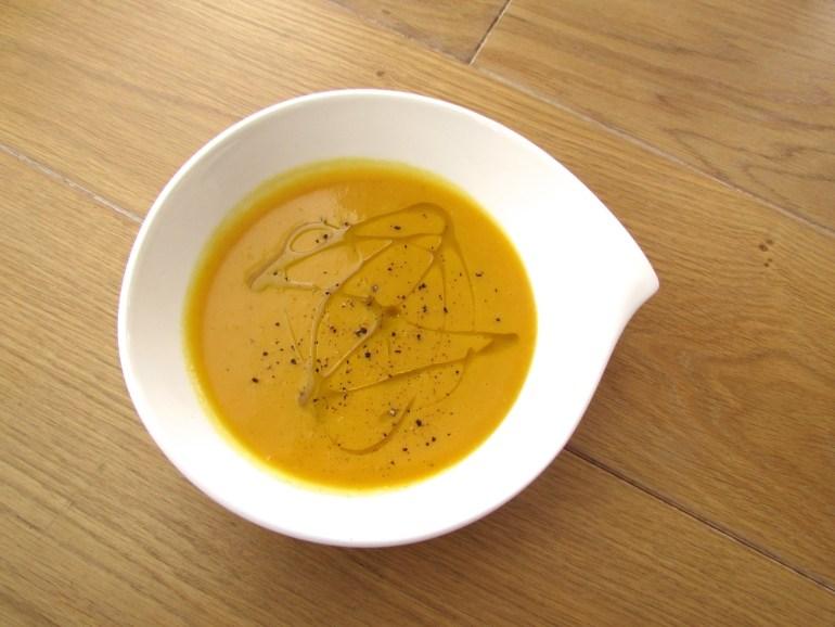 soupe à la courge rôtie
