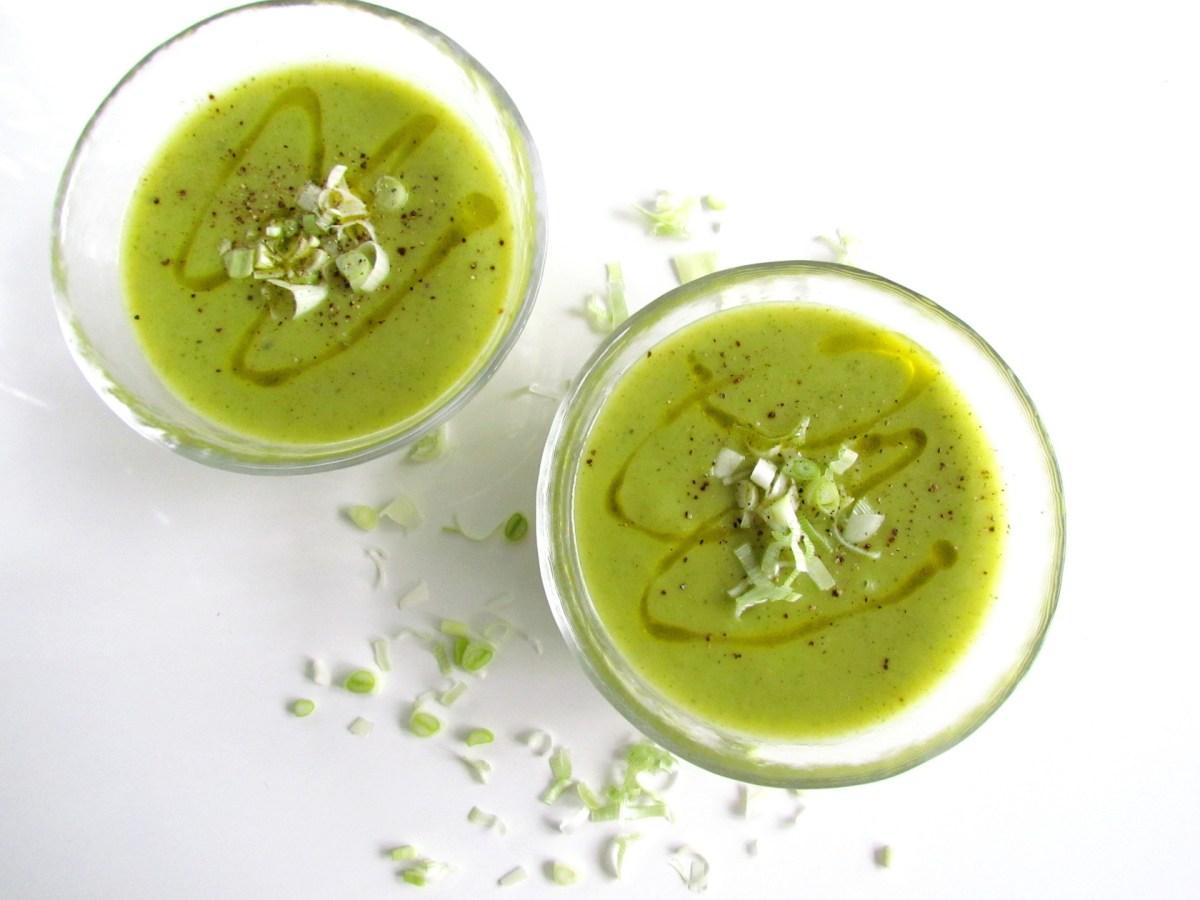 zucchini leek soup