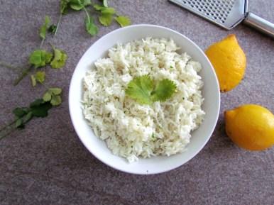 coconut basmati rice   www.savormania.com