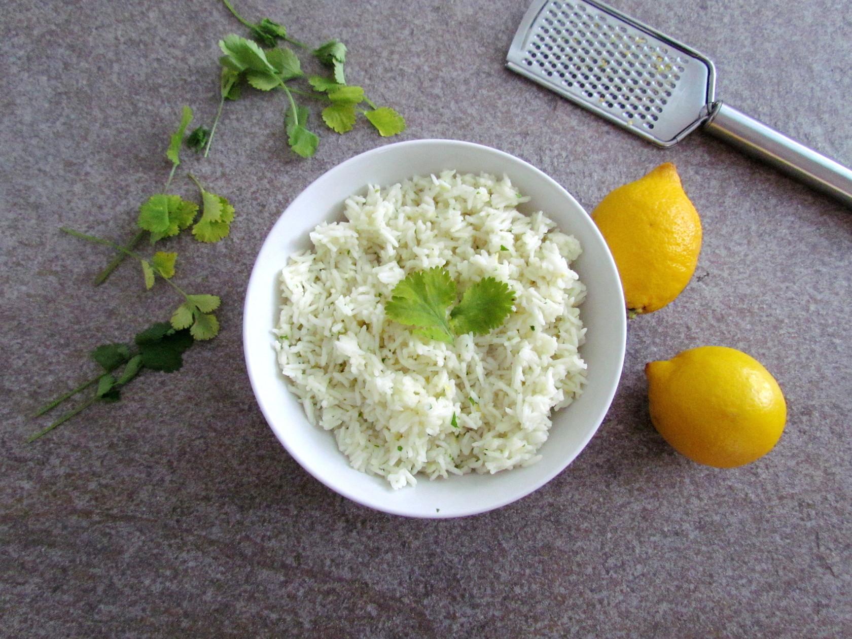 riz basmati à la noix de coco