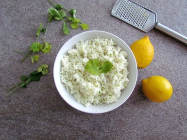 riz basmati à la noix de coco | www.savormania.com