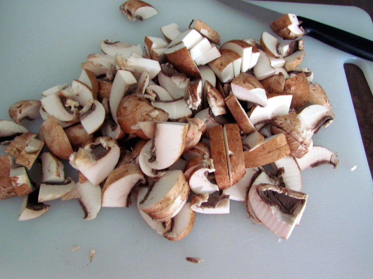 champignons bruns