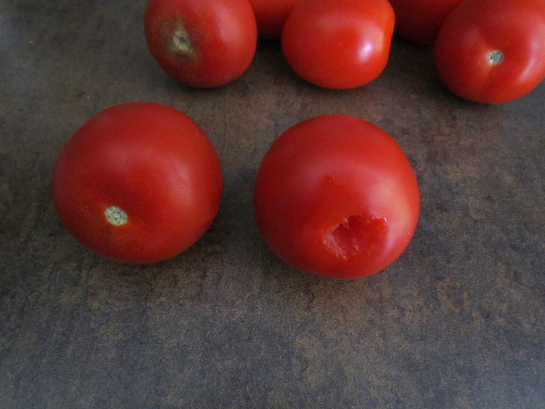 tomates sans pédoncules