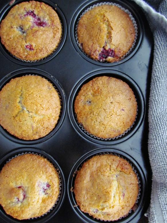 muffins à la framboise et noix de coco   www.savormania.com