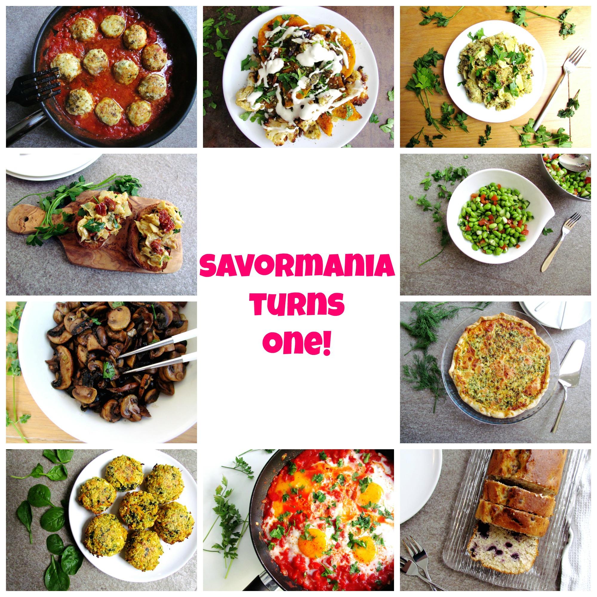 savormania turns 1!