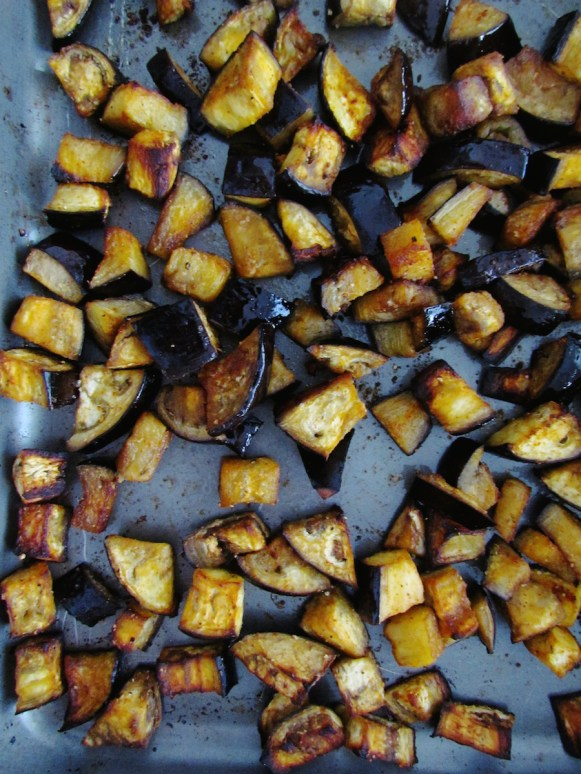 roasted eggplant | www.savormania.com