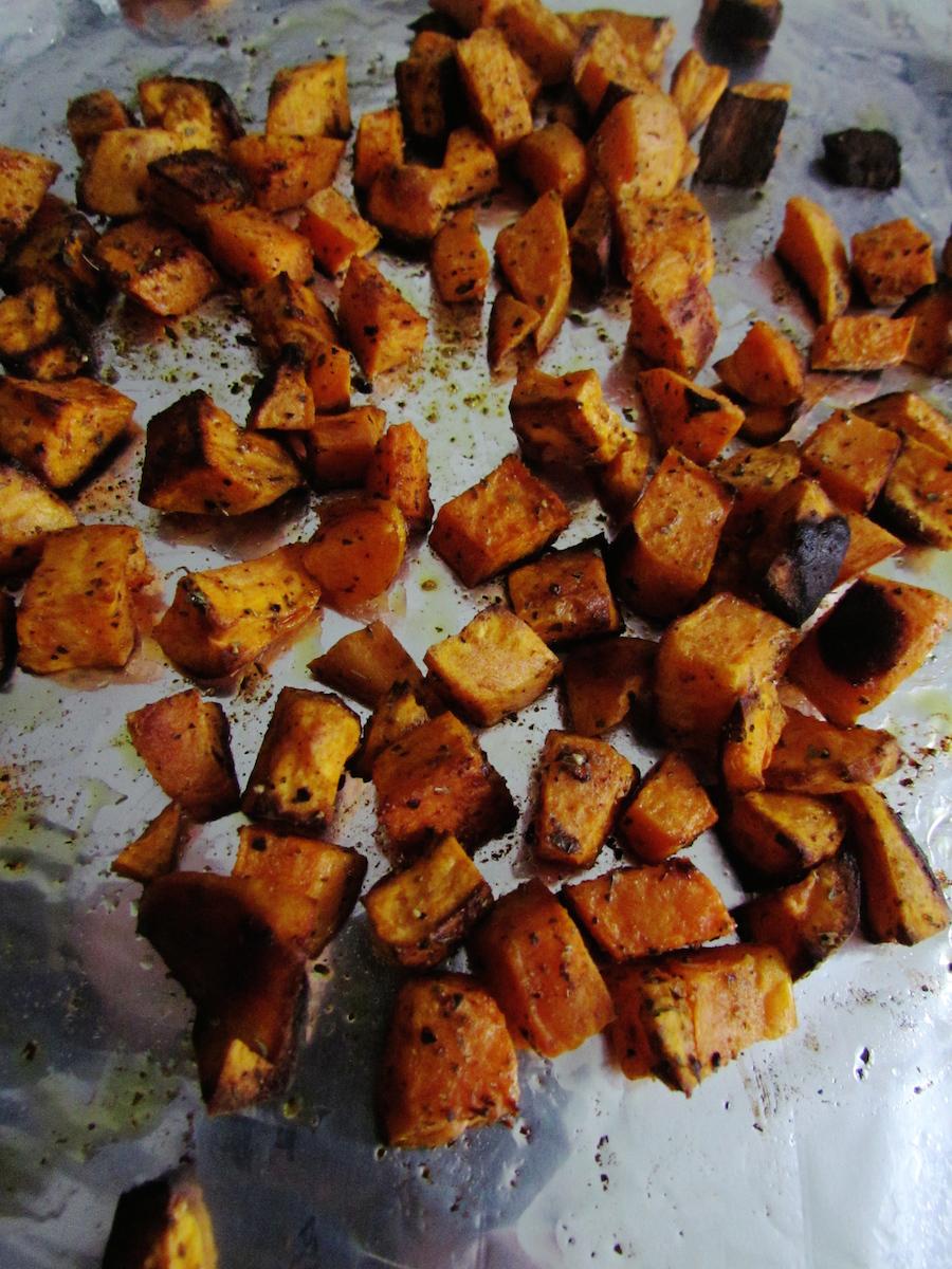 patate douce rôtie   www.savormania.com
