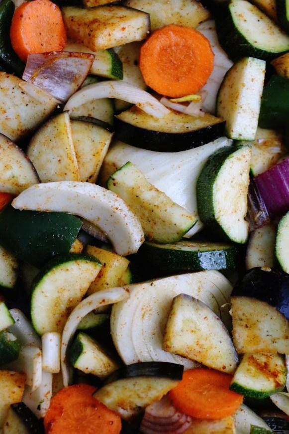 chopped vegetables   www.savormania.com