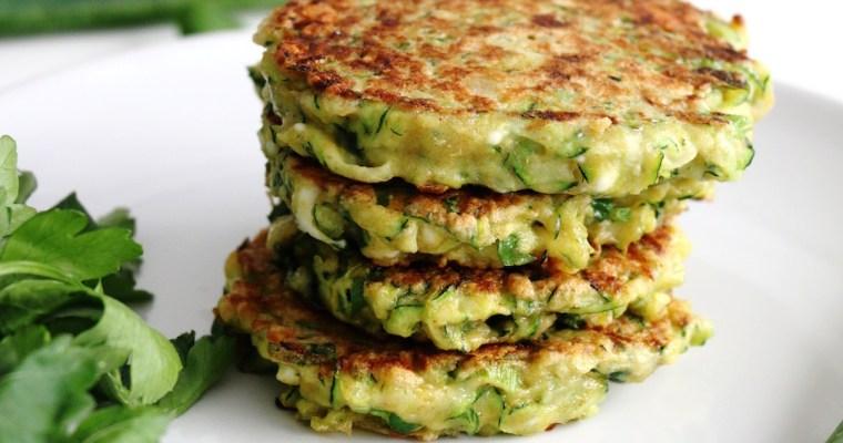 pancakes aux courgettes et feta