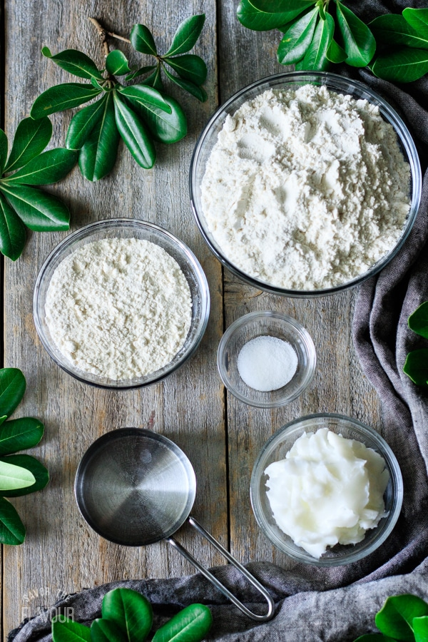 ingredients for hot water crust pastry