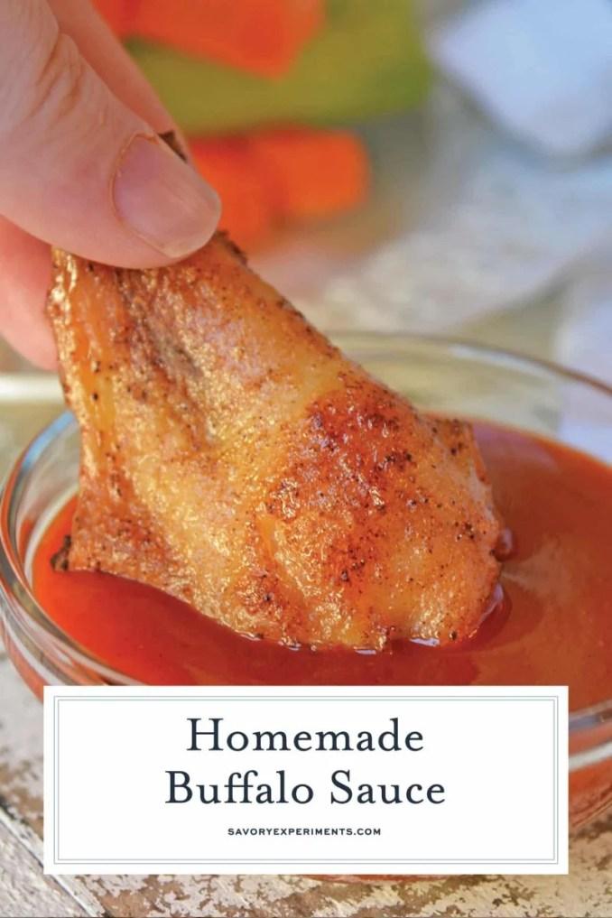 Homemade Buffalo Sauce Recipe | Authentic Anchor Bar Wing