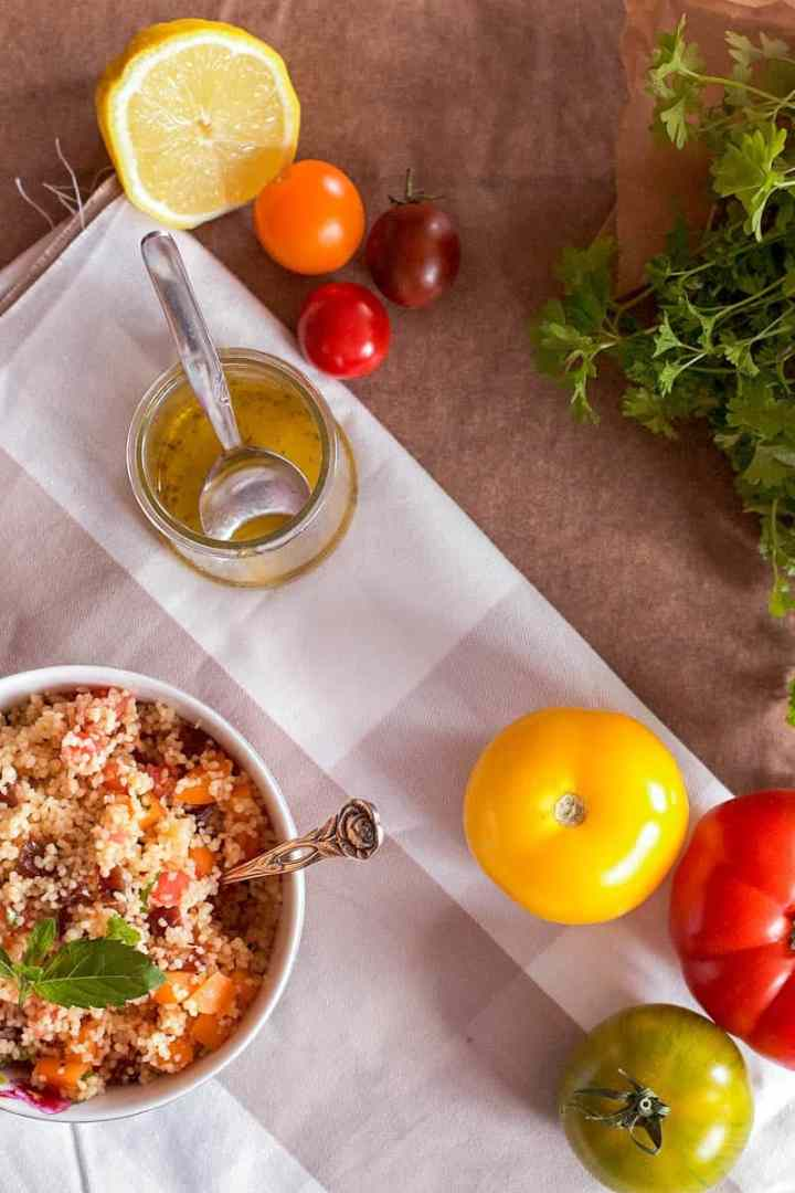 Fruity Couscous Salad | savorynothings.com
