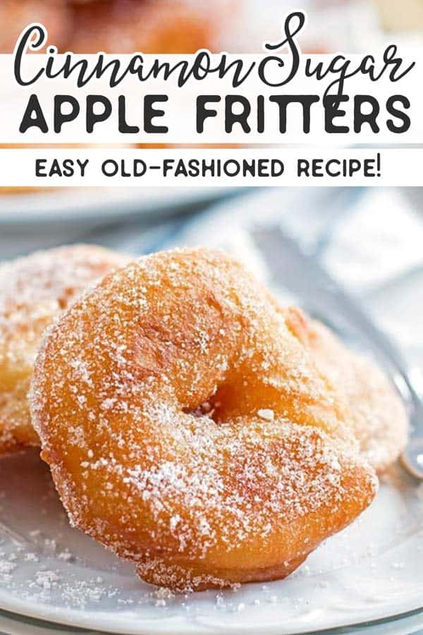 Apple Fritter Recipe Pin 1