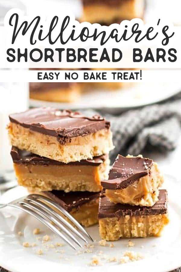 Millionaire's Shortbread Bars Pin 2