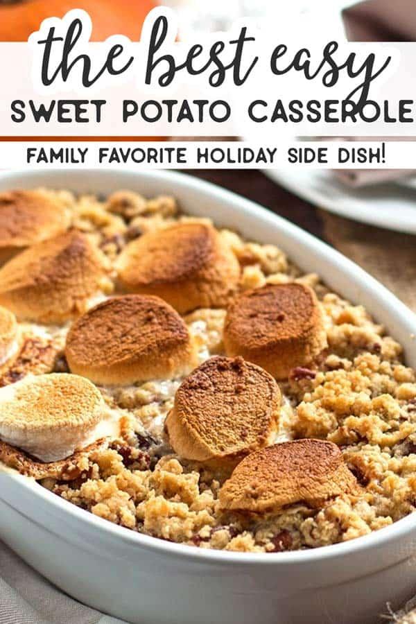Sweet Potato Casserole Pin 1