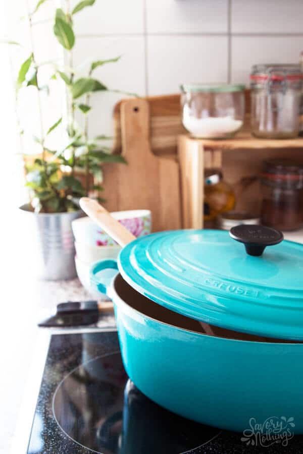 Are you feeling overwhelmed with keeping your household running smoothly? We implemented this simple 3 step after dinner routine and it had a huge impact on how clean and tidy our home is. Plus our mornings are so much more relaxed now!