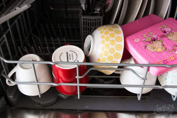 The 3 Step After Dinner Routine: Load and run the dishwasher.
