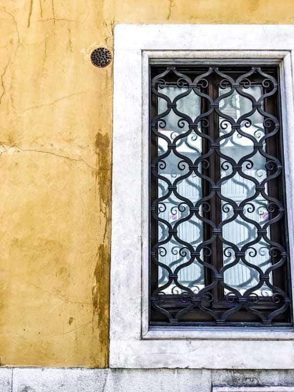 window in Bergamo