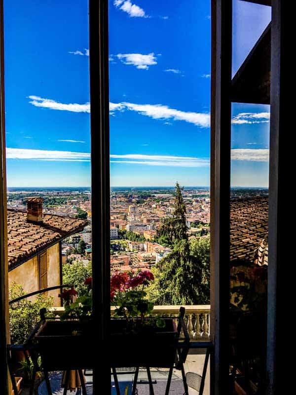 view on Bergamo