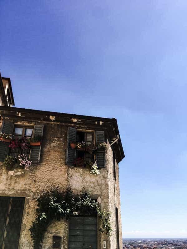 Italian stone house