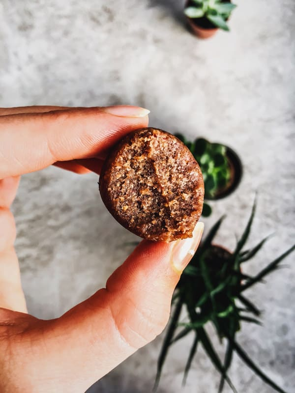 Cranberry Gingerbread Energy Bites are a tasty Christmas inspired snack made from healthy ingredients. Perfect for those on a vegan, gluten free diet!