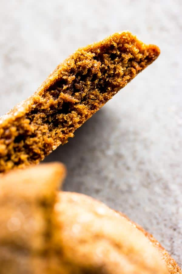 These soft Molasses cookies are easy to make and taste delicious. Just what you want for Christmas this year!