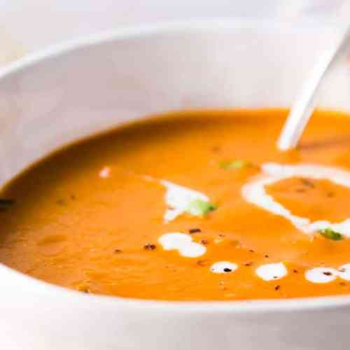 Horizontal image for Easy Tomato Soup