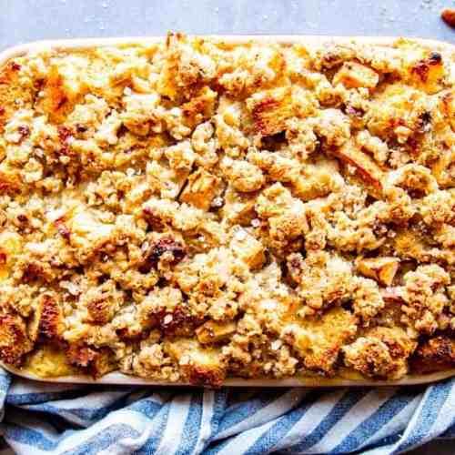Apple French Toast Bake Image Tk