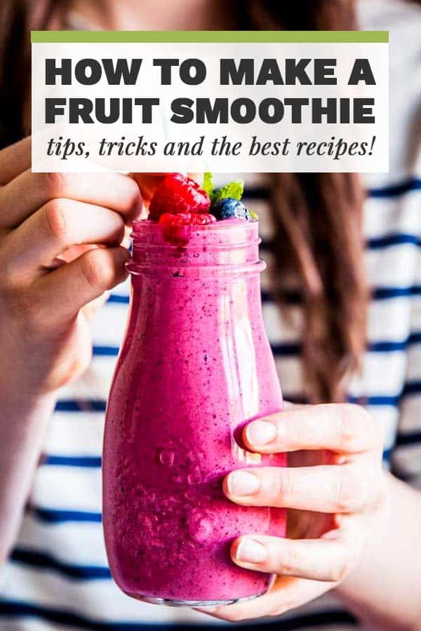 How to Make a Fruit Smoothie Image with Text