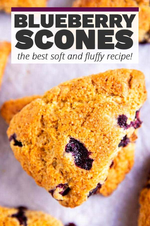 Blueberry Scones Image Pin 1
