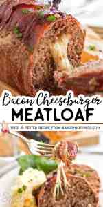Bacon Cheeseburger Meatloaf Image Pin