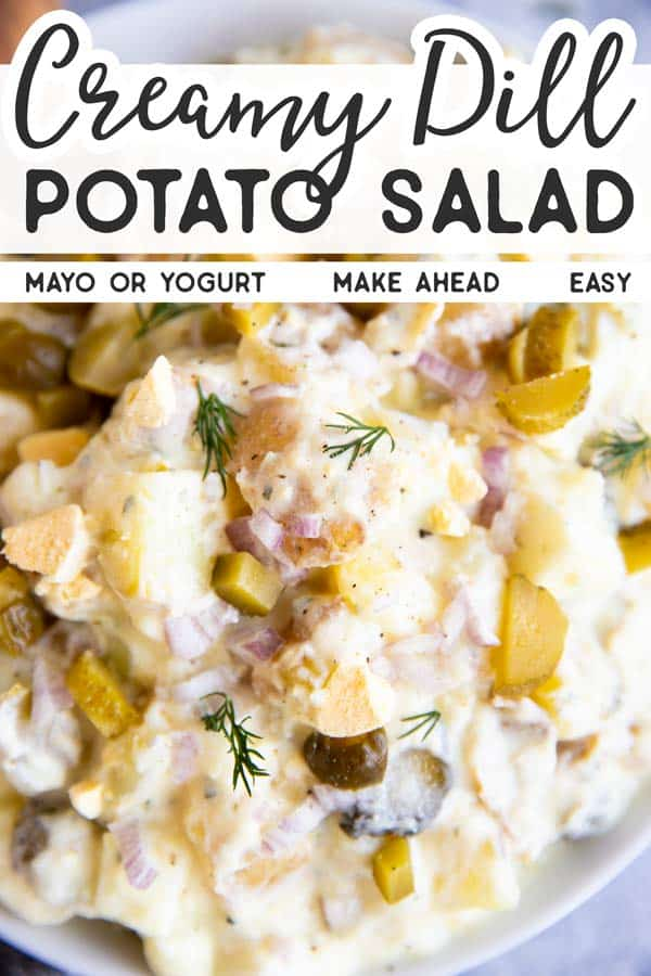 Dill Potato Salad Pin 1