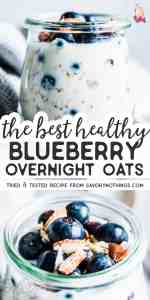 Blueberry Overnight Oats Pin