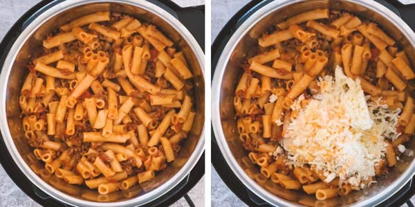 Instant Pot Baked Ziti How to Image 3