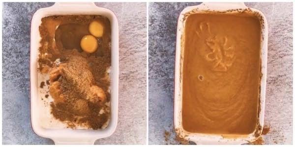 Pumpkin dump cake how to image 1