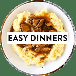 Thumbnail for easy dinner recipes.