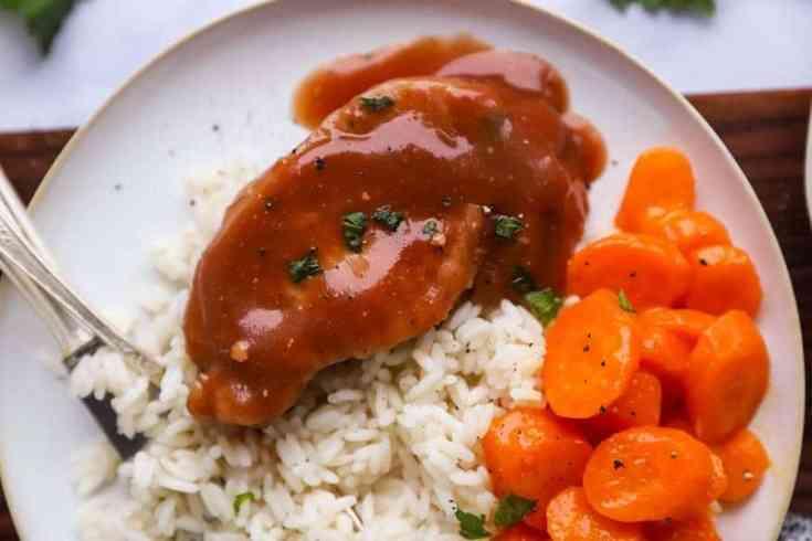 Crock Pot Cranberry Pork Chops Recipe