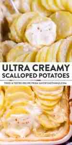 Scalloped Potatoes Pin