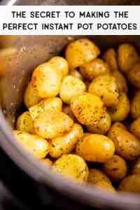 Instant Pot Potatoes Pin