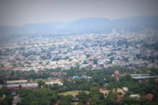 Udaipur City from City Palace, Udaipur
