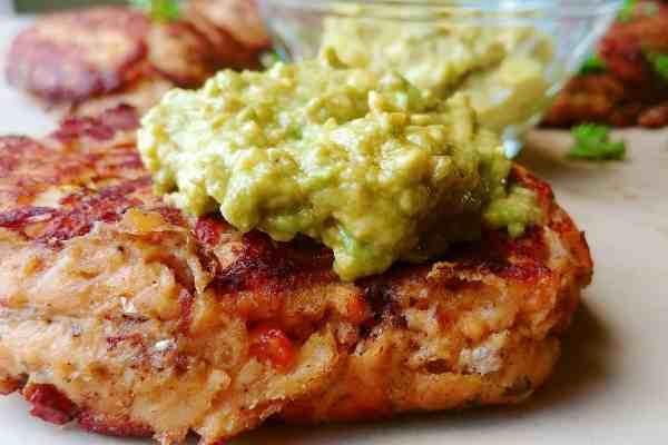 Salmon Burgers With Guacamole Recipe