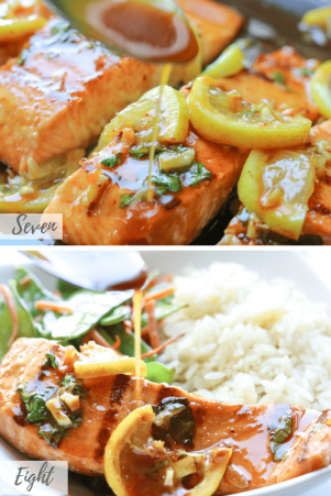 Honey Garlic Salmon-savory-thoughts-4
