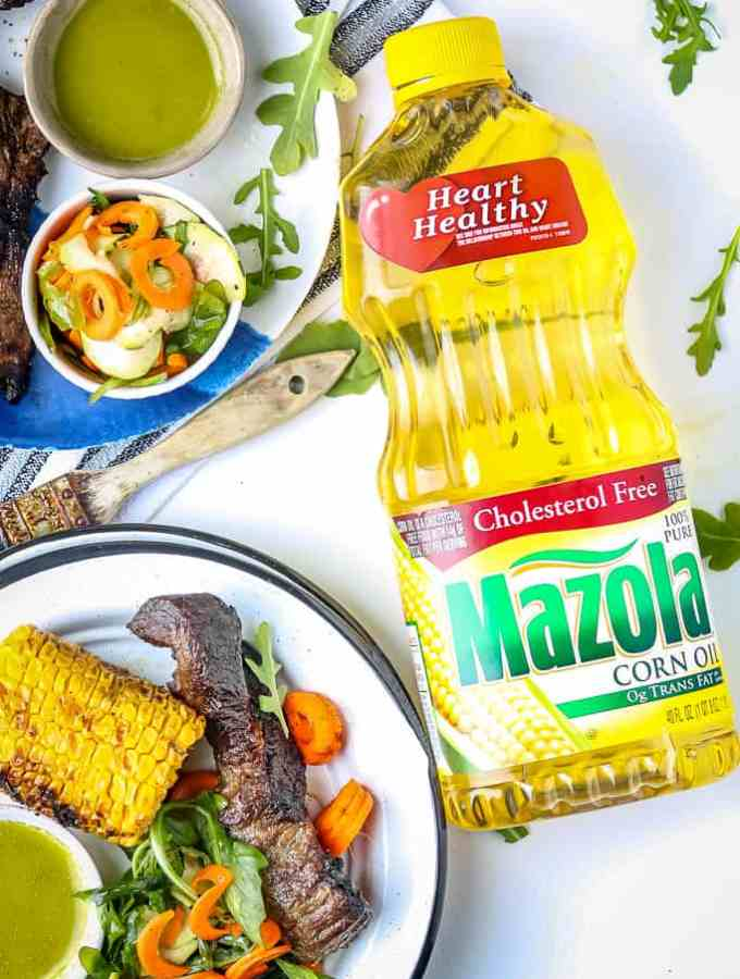 Easy Grilled Marinated Country Style Ribs #MarinadesWithMazola #MakeItWithHeart #CollectiveBias