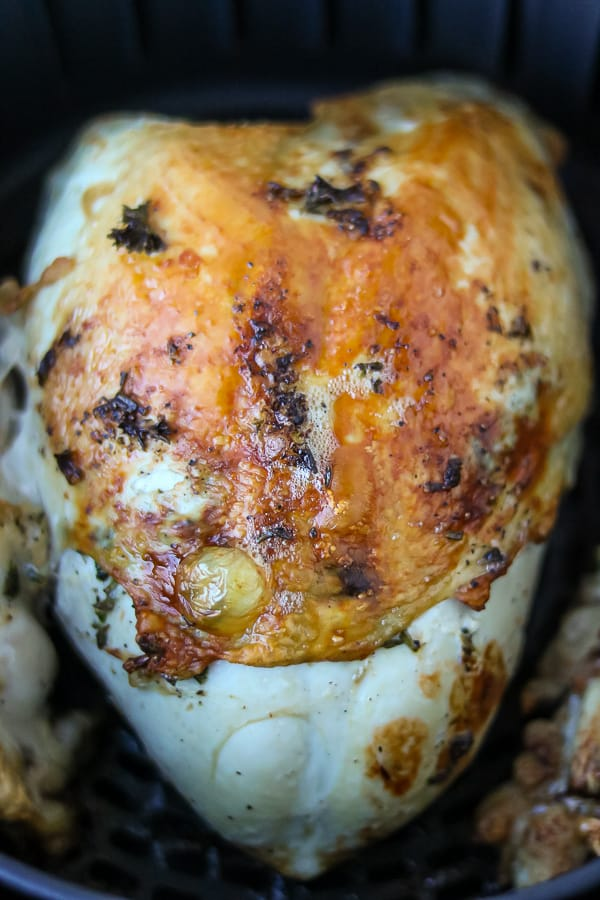 roasted turkey breast in the air fryer