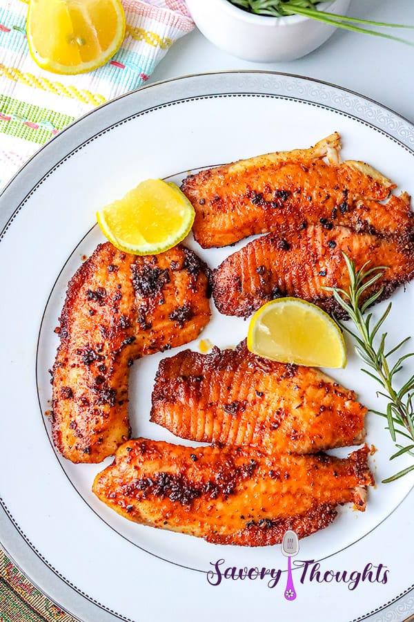 how to prepare blackened fish
