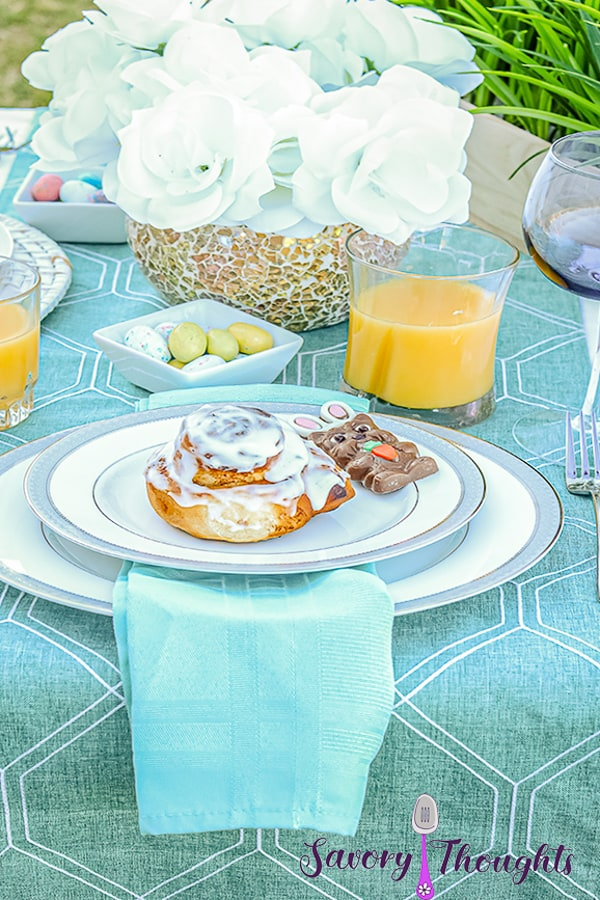 Easter Brunch Cinnamon Rolls