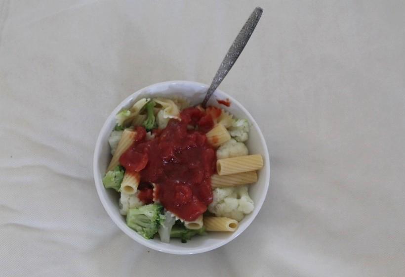 déjeuner repas vegan