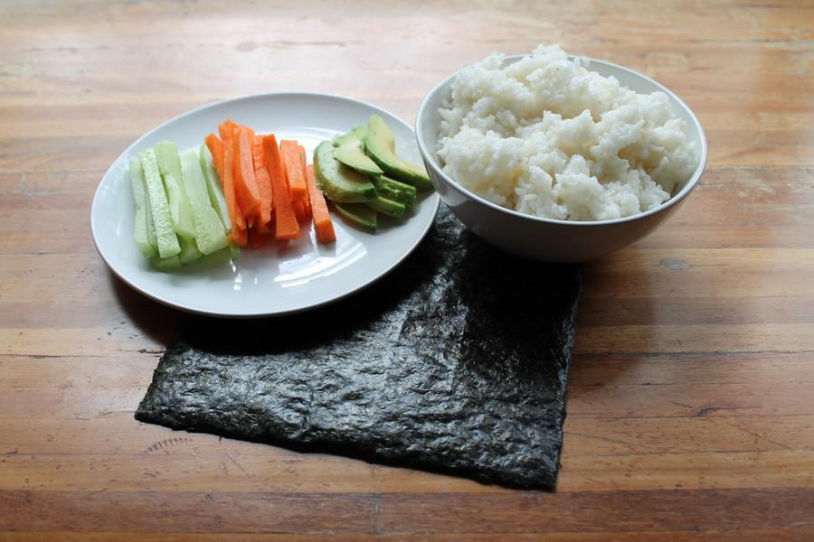 sushis ingredients