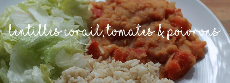 recette lentilles corail