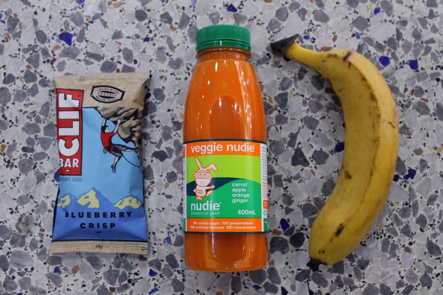 healthy snack voyage